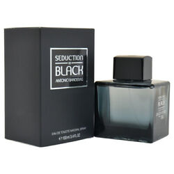 Seduction in Black by Antonio Banderas 3.4 oz EDT Spray New in Box