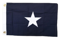 ALBATROS 16x24 Embroidered 100% Cotton Bonnie Blue Flag 16ftx24ft Frame Size for