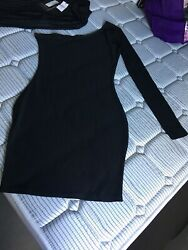 NEW LADIES BLACK DRESSES SIZE 8