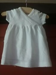 Gymboree girls white eyelet dress size 0 3 mos. nwt $9.00