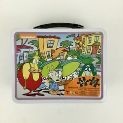 Rockos Modern Life Lunch Box w Jigsaw Puzzle 500 Pieces Nickelodeon Nick NEW $28.99