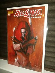 RED SONJA #3 SHE DEVIL WITH A SWORD HTF A VARIANT 2005 DYNAMITE Dell'Otto