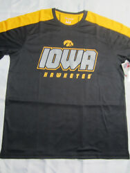 NCAA Iowa Hawkeyes Champion Impact T Shirt Medium Large X Large New $12.49