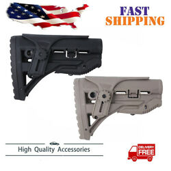 FAB Defense stock w Shock Absorbing With Cheek Rest -GL-SHOCK CP Us shipping OD