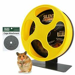 Exotic Nutrition Silent Runner Pet Exercise Wheel + Cage Attachment