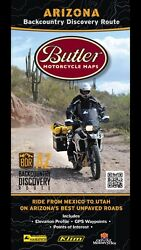 Butler Motorcycle Maps: Arizona BDR (Backcountry Discovery Route) Map