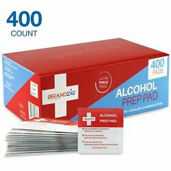 Sterile Alcohol Prep Pads (400-Pack)  Thick 2-Ply