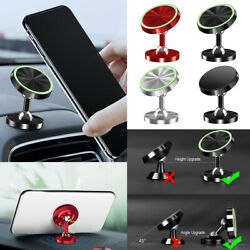 Metal 360° Magnetic Car Dashboard Phone Holder Mount Alloy For Cellphone GPS $3.15