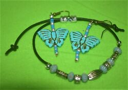 Jewelry Handcrafted women 2peice set quot;Earrings and Bracketquot; $14.95