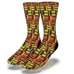 NEW ADULT JUNIOR SAVVY SOX AFRICAN PATTERN STYLE 10 SOCKS LIMITED EDITION OSFA $13.90