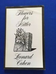 FLOWERS FOR HITLER FIRST EDITION PAPERBACK ISSUE REVIEW COPY BY LEONARD COHEN $100.00