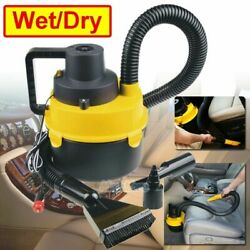 Car Vacuum Cleaner Wet & Dry Ultra Vac Hand Vacuum For Any 12V Vehicle New