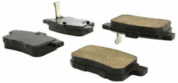 Centric Posi-Quiet Brake Pad Set Rear For 08-12 Accord  TSX #105.13360
