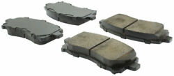 Centric Posi-Quiet Brake Pad Front For 97-03 ImprezaForesterOutback #105.07210