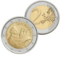 IN STOCK - SAN MARINO 2 Euro 2019 national side coin - UNC