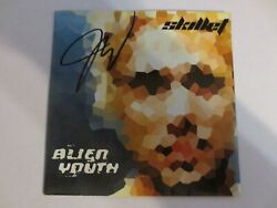 Skillet - Alien Youth CD 2001 SIGNED AUTOGRAPHED John Cooper Good Condition