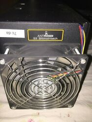 Bitmain Antminer S3 440Ghs WORKS GREAT $23.99