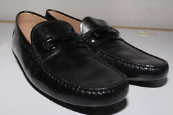 Men#x27;s Size 6 Black Patent Leather Tod#x27;s Drivers $229.99