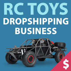 RC Toys Dropshipping Store - Turnkey Website Business $129.00