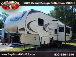 20 Grand Design Reflection 150 Series 290BH RV Camper Towable 5th Wheel Bunks