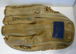 VTG Spalding Glove Top Grain Leather Well Used RHT $11.99