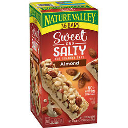 Nature Valley Sweet and Salty Nut Granola Bars Almond Snack Bars 36 ct. $16.49