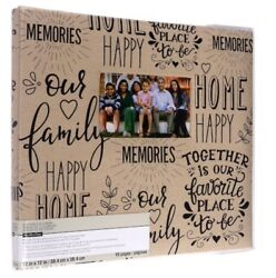 "Family Memories Scrapbook Album 12"" x 12"" by Recollections"