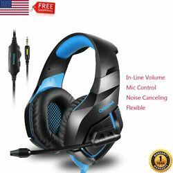 Professional ONIKUMA K1-B Gaming Headset for PC PS4 XBOX ONE IPAD Computer