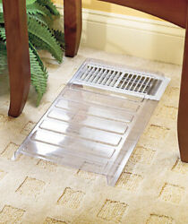 Vent Extender Heat Air Conditioner Register Deflector Adjustable Floor Furnace $9.50