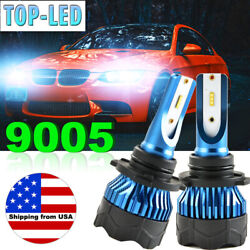 NEW 9005 HB3 Car LED CSP 72W 8000LM Headlight Kit Beam Bulbs Fog Lights 6000K US