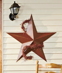 3 FT Tall Rustic Outdoor Dimensional BARN STAR Country Farmhouse Home Decor 36quot; $26.89