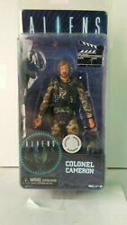 NECA ALIENS COLONEL CAMERON EXCLUSIVE ACTION FIGURE $46.99