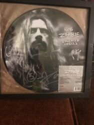 Rob Zombie Vinyl Educated Horses Limited Edition Signed By The Band