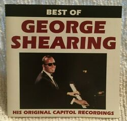 The Best of George Shearing [CapitolCurb] by George Shearing (CD Jul-1993)m