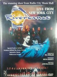 Riverdance - Live From New York City New DVD Jean Butler Colin Dunne Mar