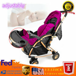 Foldable Baby Pushchair Stroller BuggyNewborn Jogger Travel Infant  Lightweight