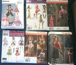 CHOICE OF NEW SIMPLICITY SEWING PATTERNS HALLOWEEN COSPLAY MISS SIZES 6-24  3-8