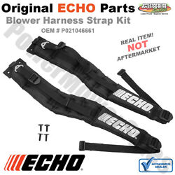 P021046661 P021046660 Echo Backpack Blower Strap Kit Left Right PB-770H PB-770T