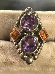 KNOCKOUT COLOR IN A NICKY BUTLER STERLING MULTI GEM RING IN A LUCKY SIZE 6