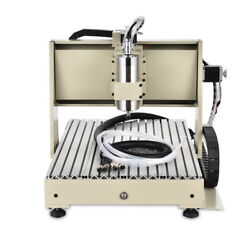 3 Axis 6040 CNC Router Engraving Drilling Milling Water-cooling Machine 1.5 KW