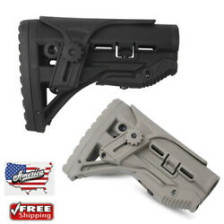 New FAB Defense stock w Shock Absorbing With Cheek Rest -GL-SHOCK CP BlackT US
