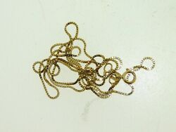 BEAUTIFUL 14KT YELLOW GOLD 20 12 INCH SNAKE CHAIN NECKLACE