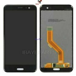 For HTC u11  U 11 LCD Screen Display Touch Digitizer Replacement Assembly Black