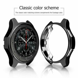 TPU Watch Case Cover Protective For Samsung Galaxy 46mmGear S3 Frontier Classic