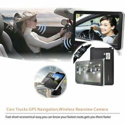 Car Gps Navigation 7 Inch Garmin With Truck Maps Wireless Direction Bluetooth