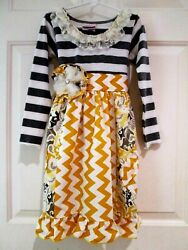 Anthropologie She Who is Beautiful Bloom Embroidered Sun Dress ~6