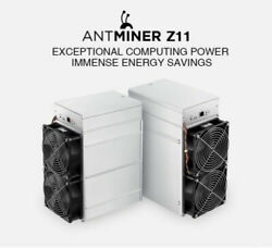 Bitmain Antminer Z11 Equihash Miner (Avail in hand USA seller) With PSU