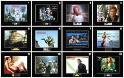 12 STAR WARS ROTJ Cast 8quot; x 10quot; Photos 11quot; x 14quot; Black Matted $85.00