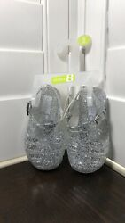 Little girls jelly sandals size 4 $12.00