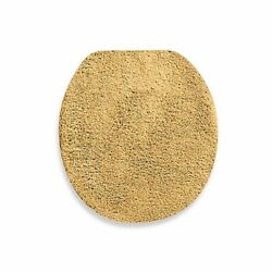 Wamsutta Duet Universal Toilet Lid Cover in Gold